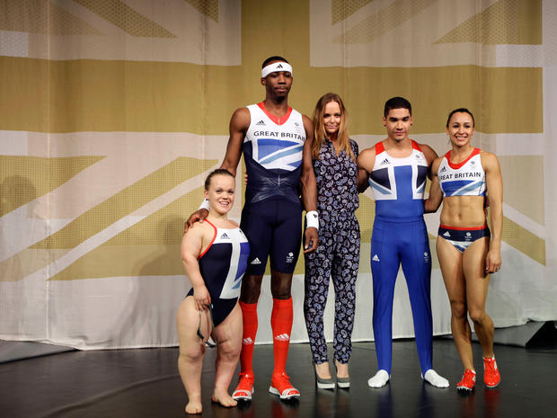 Stella McCartney's Olympic uniforms