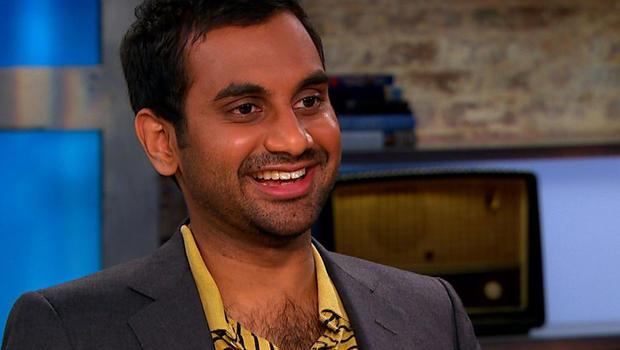 "Aziz Ansari on ""CBS This Morning."""
