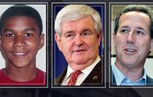 GOP candidates weigh in on Trayvon Martin case