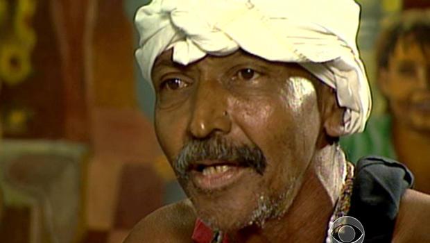 Juan Gomez, Santeria, holy man, cuba