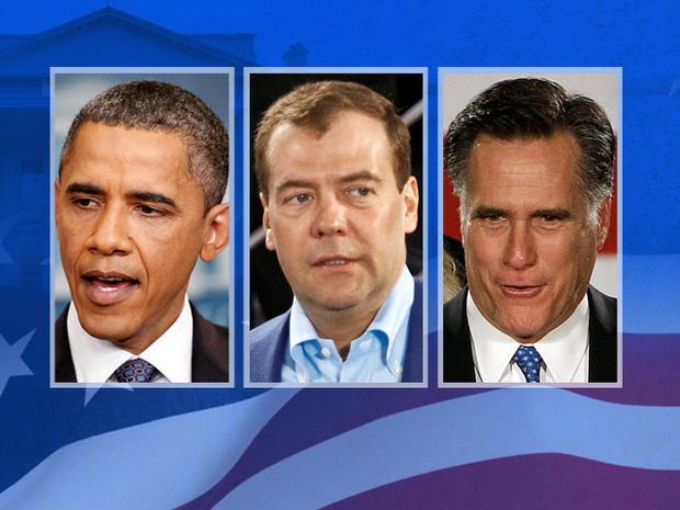 Obama Medvedev Romney