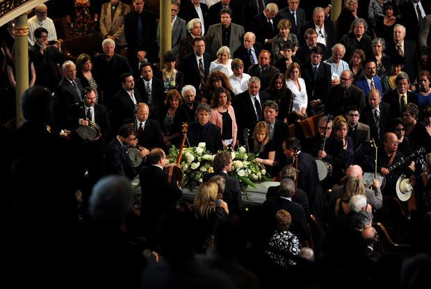 Earl Scruggs' Funeral