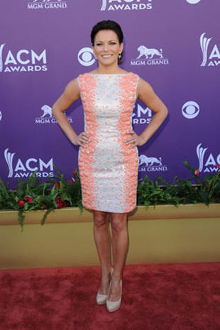 ACM Awards 2012 red carpet