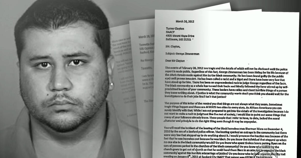 Zimmerman family urges public to hear his side - CBS News