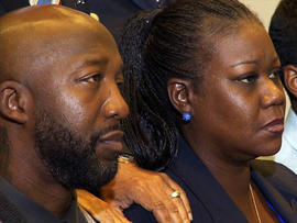 Trayvon Martin, Parents watch the Special Prosecutor
