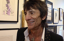 Ronnie Wood talks Stones, Faces and art