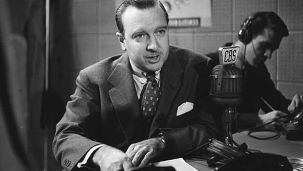 Walter Cronkite, newscaster for the CBS-TV network, is shown on July 17, 1968.  (AP Photo)