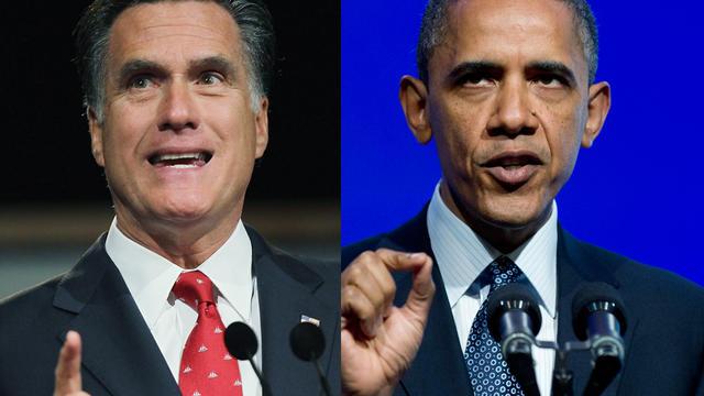 U.S. President Barack Obama, Mitt Romney