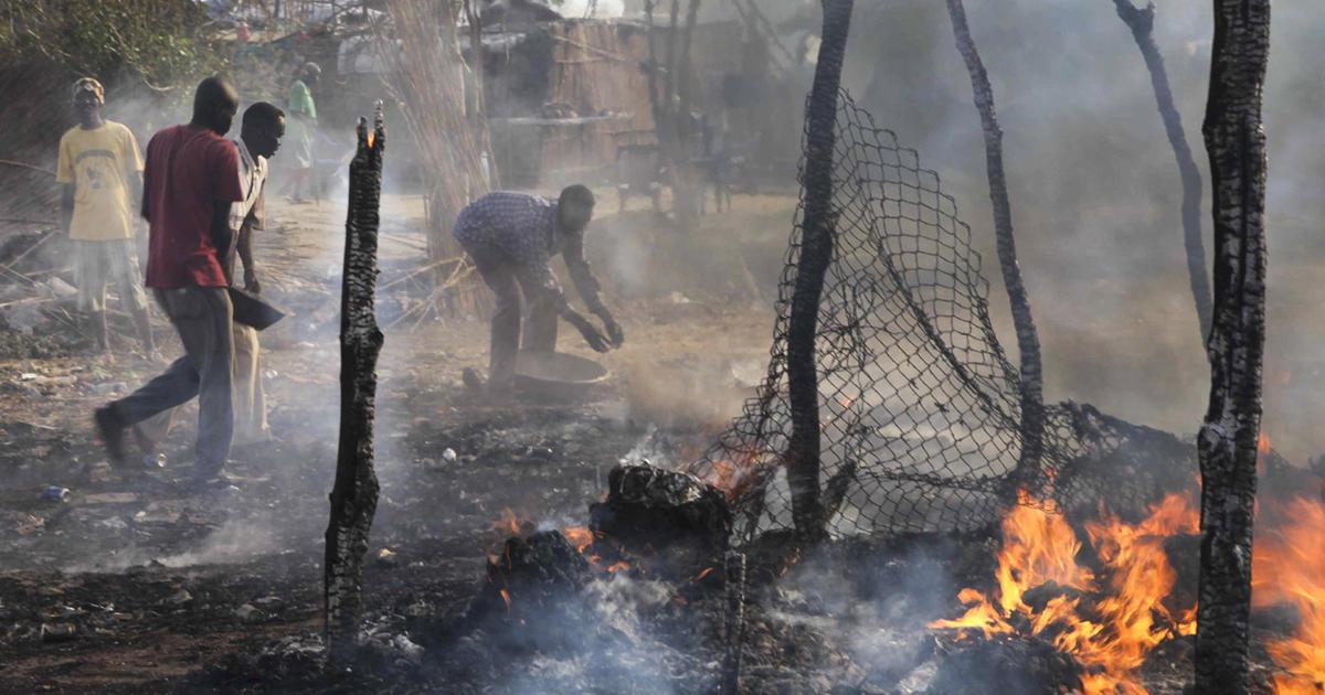 Sudan Planes Bomb South Sudan Oil Field 2 Dead CBS News