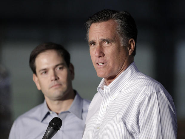 Will Romney choose Rubio as a running mate?