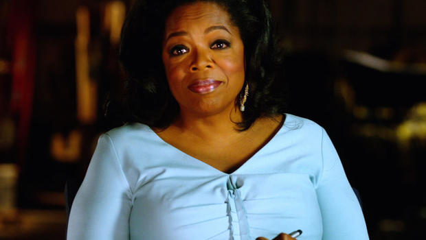"""Oprah Winfrey offers advice to her younger self in the continuing series """"Note to Self."""""""