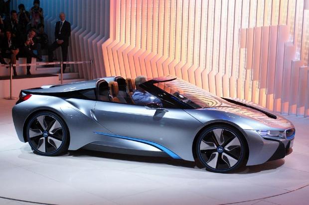 Bmw I8 Spyder Concept High Tech Rides At Beijing Auto Show 2012