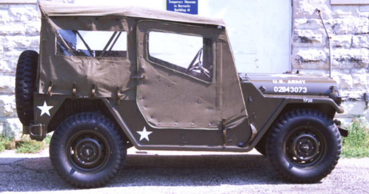 1959 1978 M151 Military Utility Tactical Truck Jeep Through The Years Cbs News