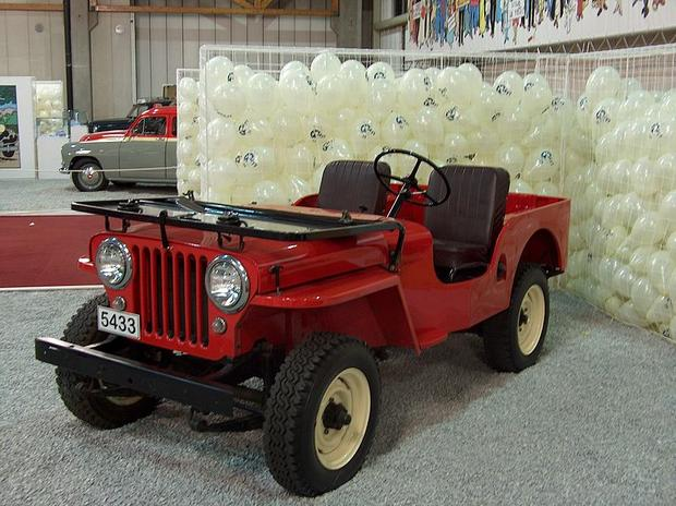 1949 1953 Willys Overland Cj 3a Jeep Through The Years Cbs News