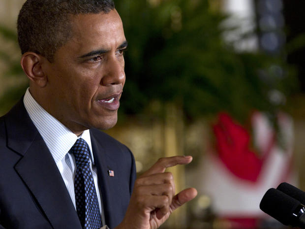 President Obama speaks during a news conference April 30, 2012, in the East Room of the White House in Washington.