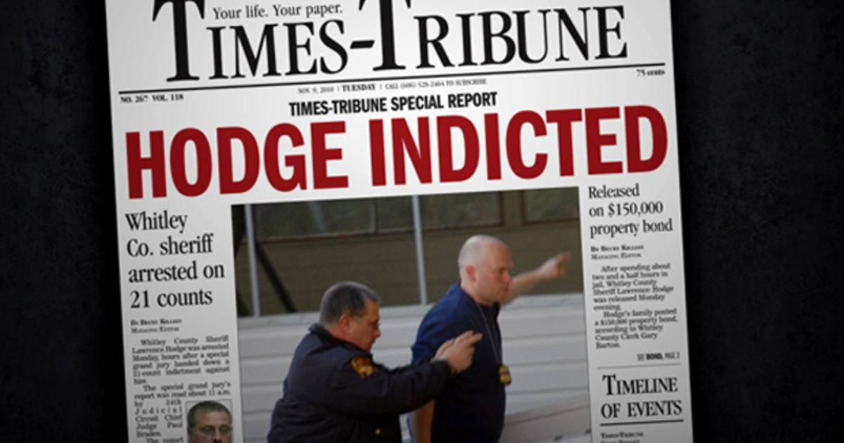 Corrupt Kentucky sheriff brought down by reporters - CBS News