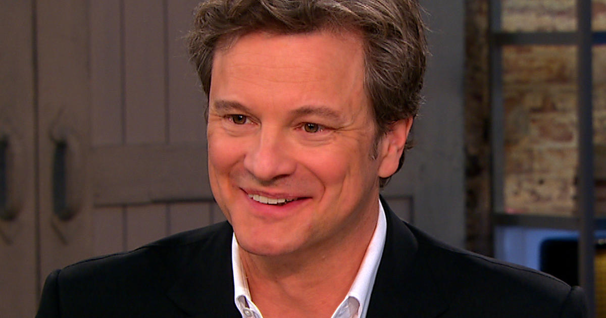 Colin Firth lends voice to classic novel reading - CBS News