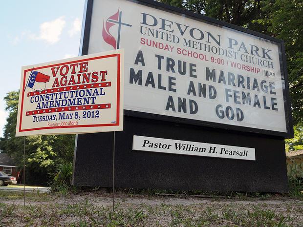 north carolina, gay marriage, amendment, ban