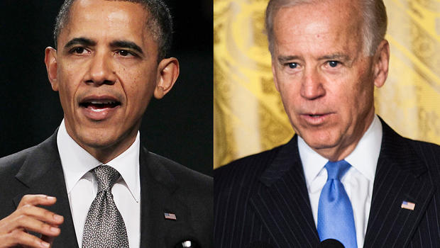 U.S. President Barack Obama and U.S. Vice President Joe Biden