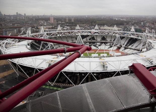 View from The Orbit, London