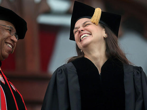 Commencement speakers 2012