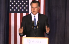 Romney slams Obama, federal govt. on economy