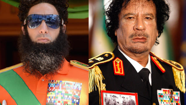 The Dictator and Moammar Qaddafi