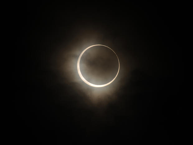"""Ring of Fire"" solar eclipse"