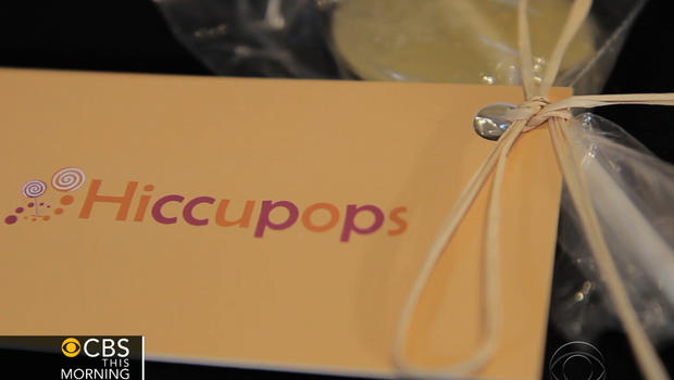 """A new remedy for the hiccups comes in the form of a lollipop - the """"Hiccupop."""""""