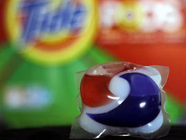 laundry detergent packets, tide