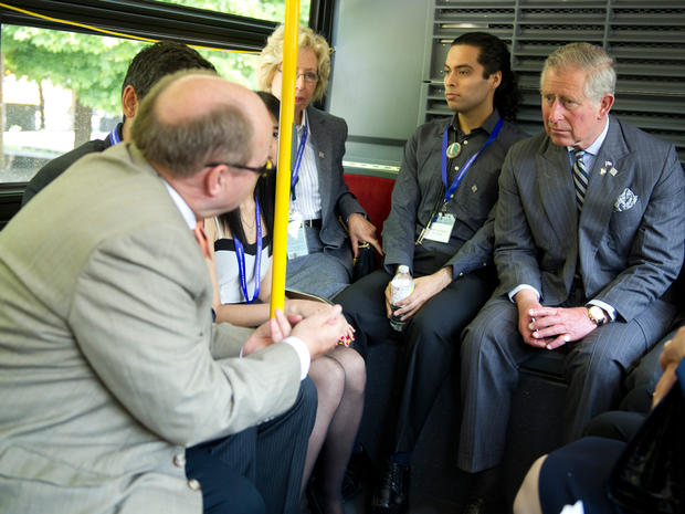 Prince Charles and Camilla visit Canada
