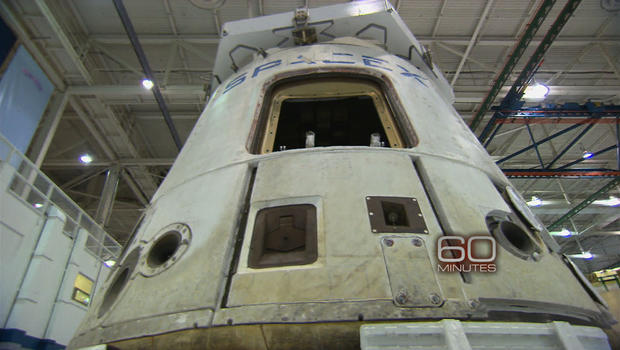 SpaceX capsule successfully docks with ISS