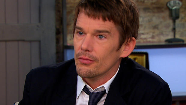 """Ethan Hawke on """"CBS This Morning."""""""