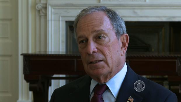 New York Mayor Michael Bloomberg on May 31, 2012 in New York.