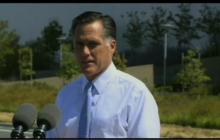 Romney defends job creation record as MA gov
