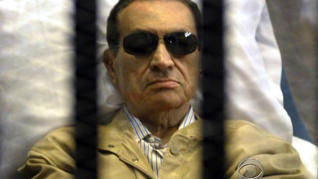 Mubarak in court on verdict, sentencing day June 12, 2012