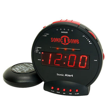 clocky 10 offbeat alarm clocks to wake a heavy sleeper pictures cbs news. Black Bedroom Furniture Sets. Home Design Ideas