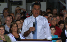 Romney courts Latinos, says Obama out of excuses