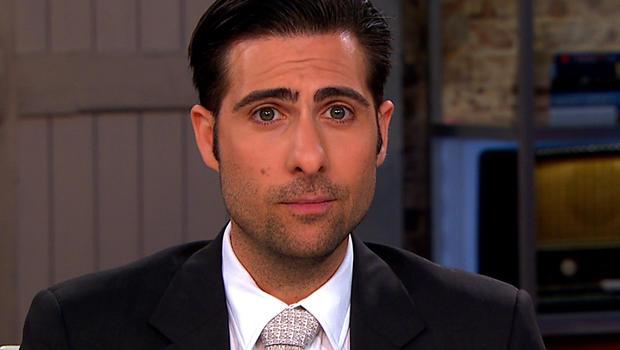 "Jason Schwartzman on ""CBS This Morning."""