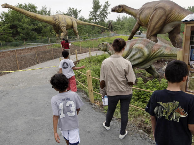 Dinosaurs invade New Jersey