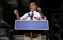 Romney attacks Obama's economic record