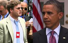 Obama, reporter spar on immigration