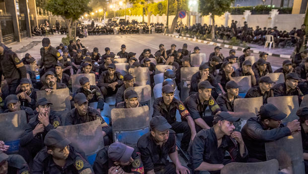 egypt, cairo, police