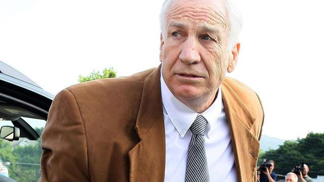 Explosive allegation from Sandusky's adopted son