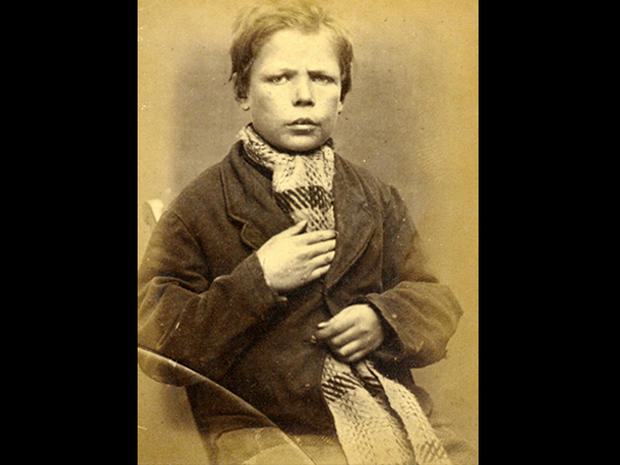 Children's mugshots from the 1870s