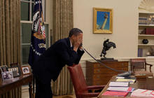 Obama gets scare from erroneous news reports