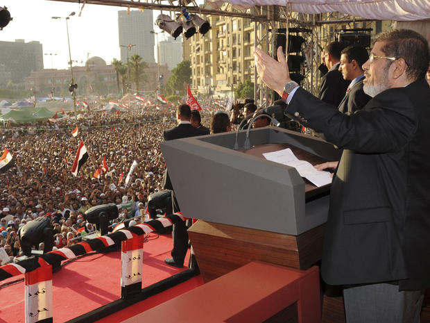 Tahrir Square celebrations