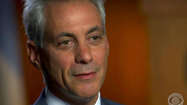 Mayor Rahm Emanuel sat down with Scott Pelley to discuss Chicago's gun violence problem.