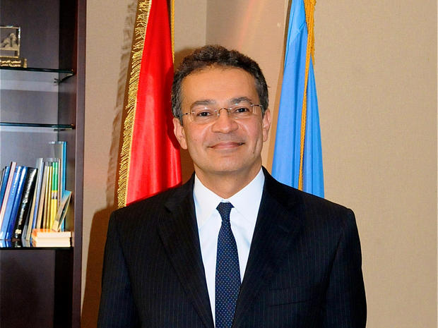 Egyptian U.N. Ambassador Mootaz Ahmadein Khalil