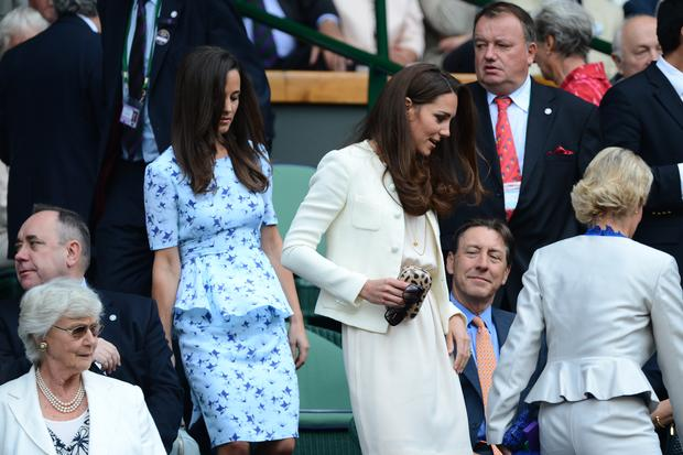 Kate and Pippa at Wimbledon